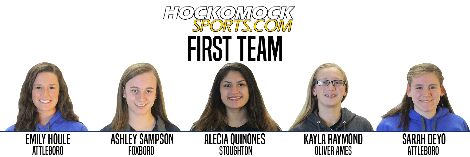 Girls Basketball 1st Team - Hockomock Sports photo