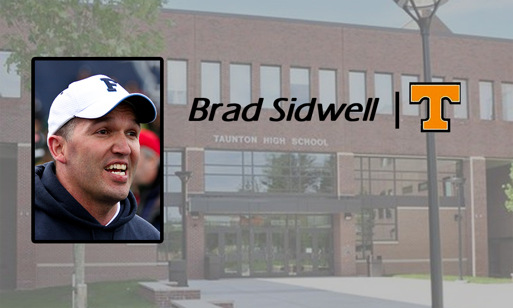Brad Sidwell, new football coach at Taunton High School (Hockomock Sports image)